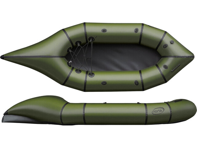 nortik CityRaft Boat dark green/black
